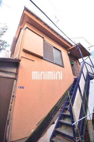 東京都品川区、目黒駅徒歩13分の築38年 2階建の賃貸アパート