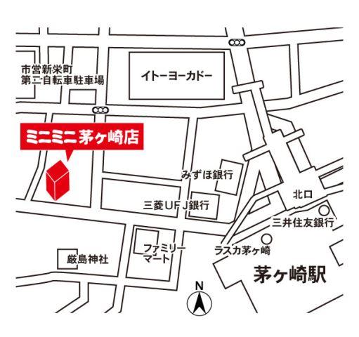 ミニミニ茅ヶ崎店の地図