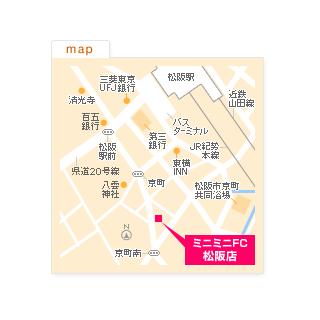 FC松阪店の地図
