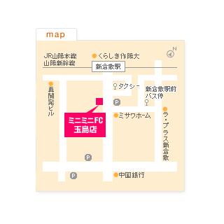 FC玉島店の地図