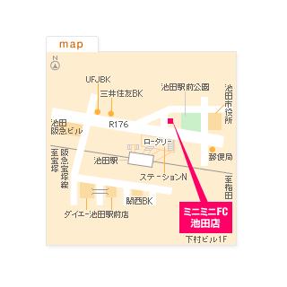 FC池田店の地図