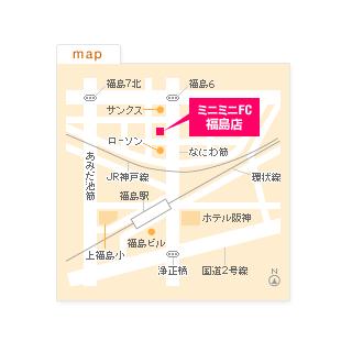 FC福島店の地図