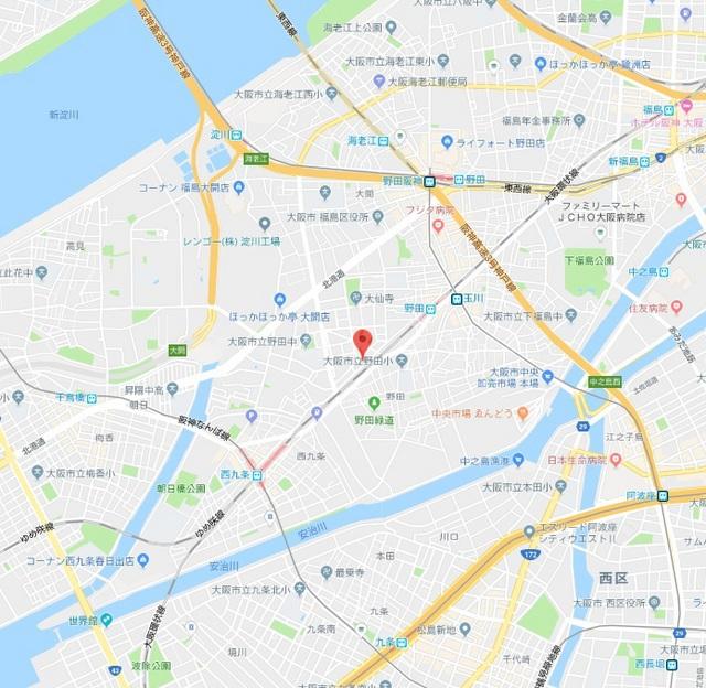 大阪環状線 野田駅(徒歩5分)、大阪市千日前線 玉川駅(徒歩7分)