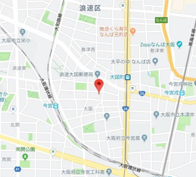 大阪府大阪市浪速区大国2丁目1LDK