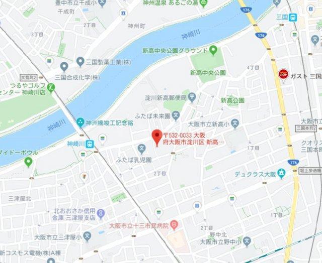 阪急電鉄宝塚線 三国駅(徒歩13分)