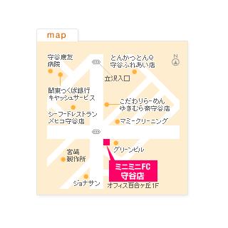 FC守谷店の地図