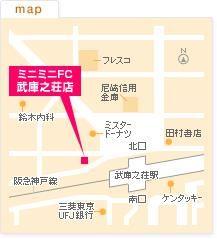 FC武庫之荘店の地図