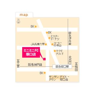 FC塚口店の地図