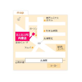 FC兵庫店の地図