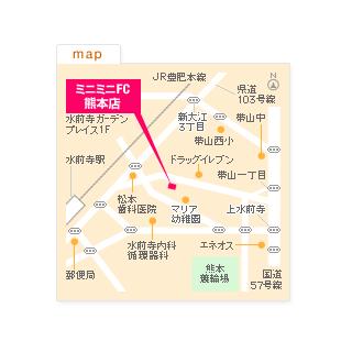 FC熊本店の地図
