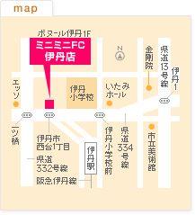 FC伊丹店の地図