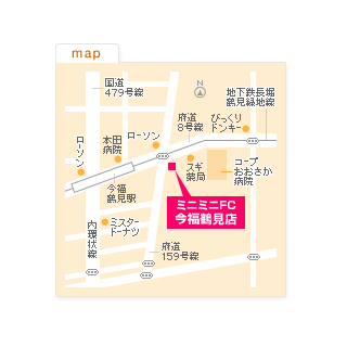 FC今福鶴見店の地図