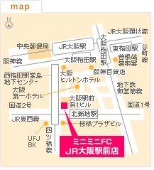 FCJR大阪駅前店の地図