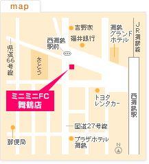 FC舞鶴店の地図