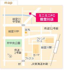 FC能登川店の地図