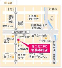 FC堺筋本町店の地図