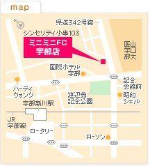 FC宇部店の地図