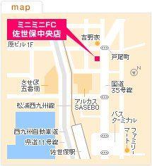 FC佐世保中央店の地図