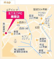 FC鹿屋店の地図