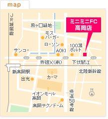FC高岡店の地図