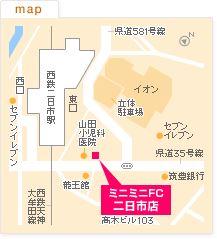 FC二日市店の地図