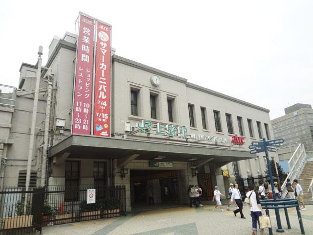 上野駅のエリア情報2