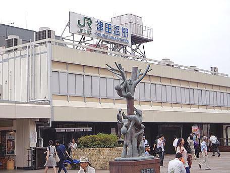 津田沼駅のエリア情報1