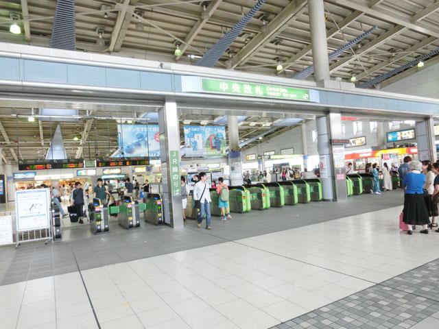 品川駅のエリア情報1