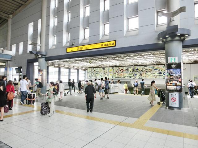 品川駅のエリア情報2