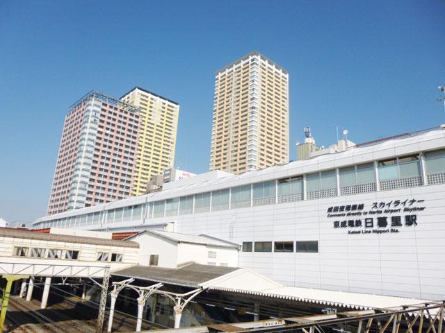 日暮里駅のエリア情報2