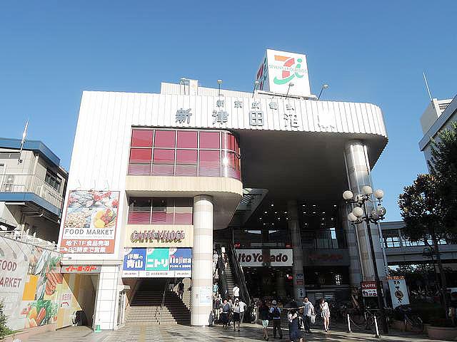 新津田沼駅のエリア情報1