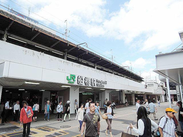 船橋駅のエリア情報1