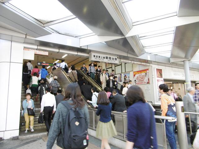 朝霞台駅のエリア情報2