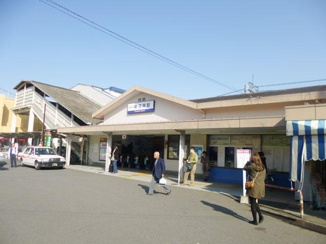 新河岸駅のエリア情報1