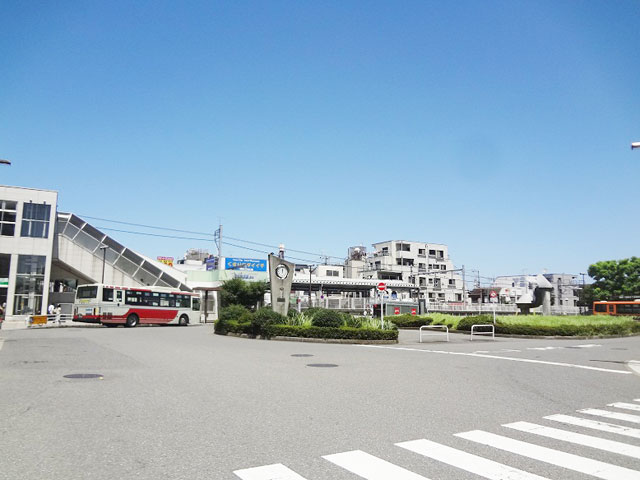 西武柳沢駅のエリア情報2