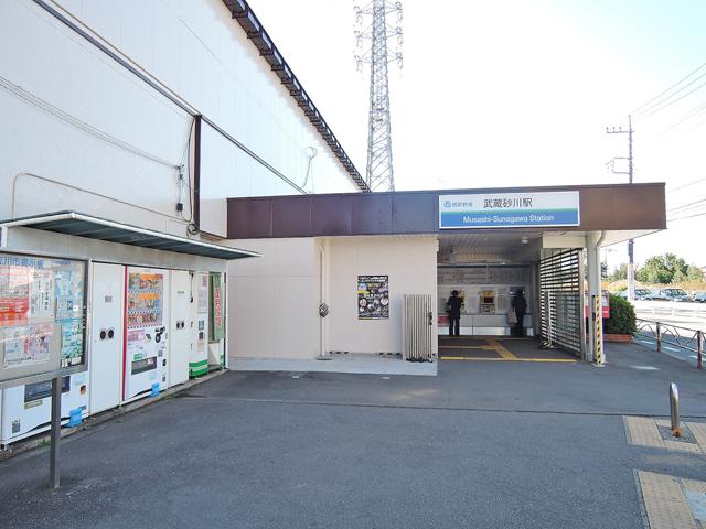 武蔵砂川駅のエリア情報1
