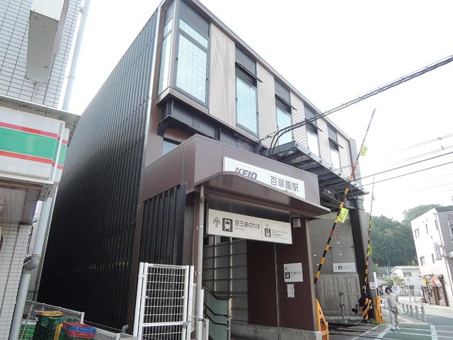 百草園駅のエリア情報1