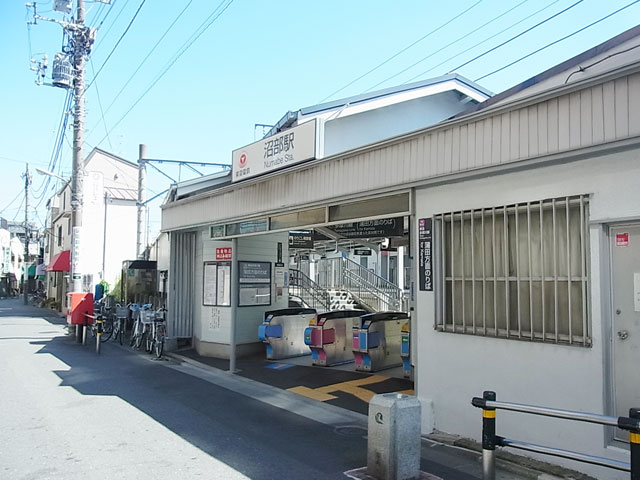 沼部駅のエリア情報1