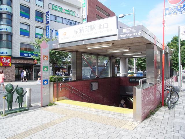 桜新町駅のエリア情報1