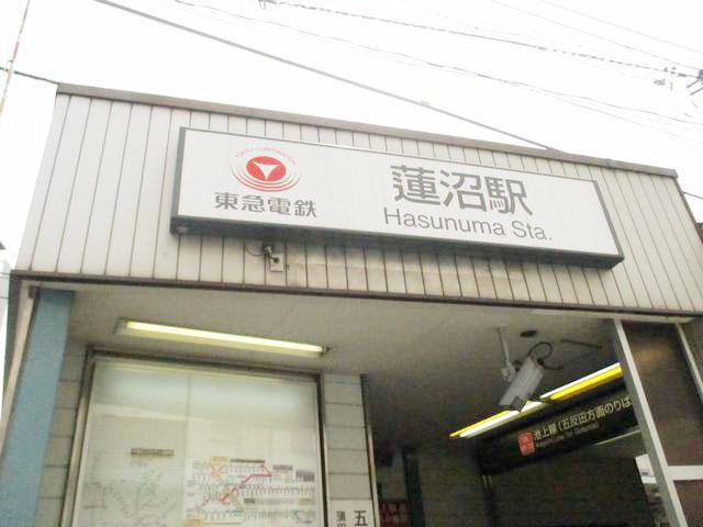 蓮沼駅のエリア情報1