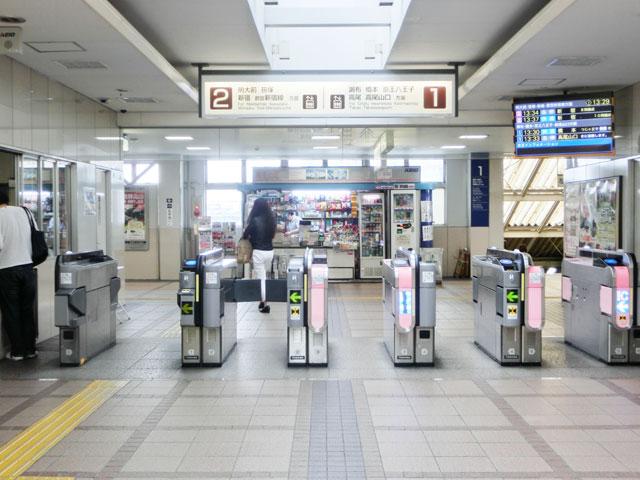 下高井戸駅のエリア情報2