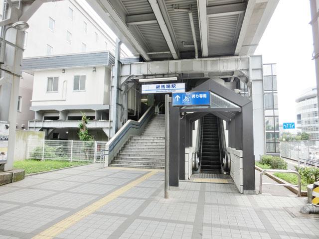 新馬場駅のエリア情報1