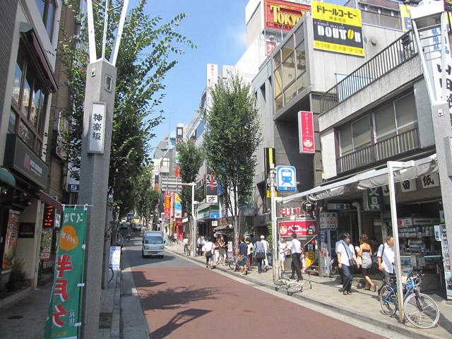 神楽坂駅のエリア情報1