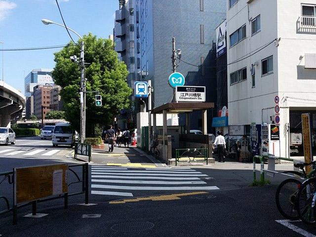 江戸川橋駅のエリア情報1