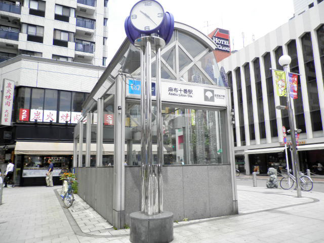 麻布十番駅のエリア情報1