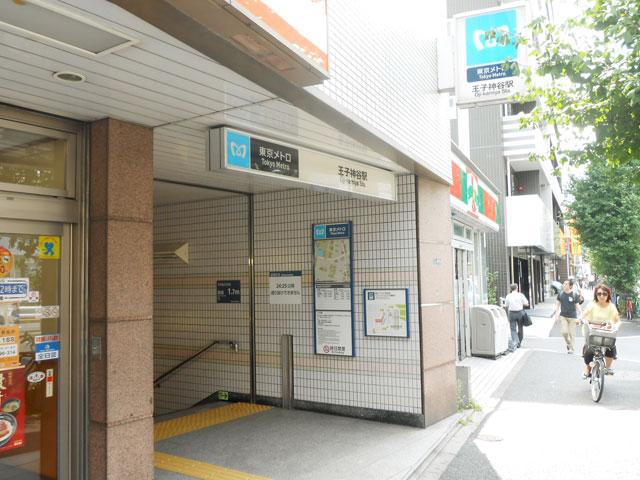 王子神谷駅のエリア情報1