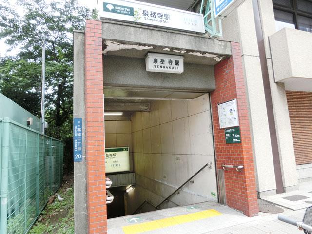 泉岳寺駅のエリア情報1