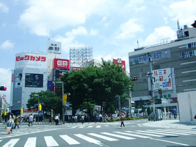 新宿駅のエリア情報3