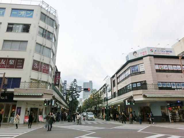 新静岡駅のエリア情報2