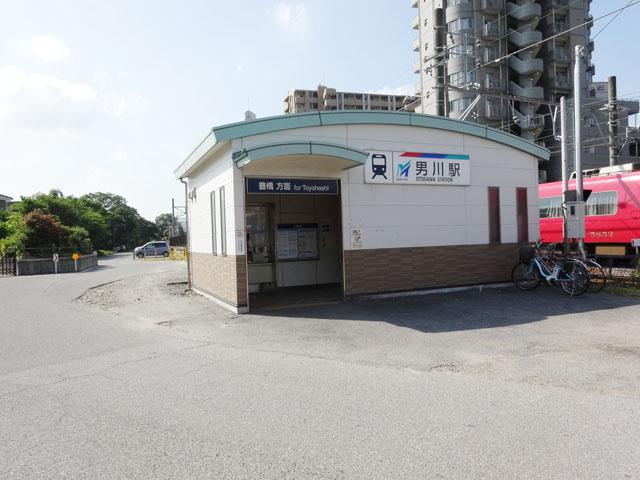 男川駅のエリア情報1